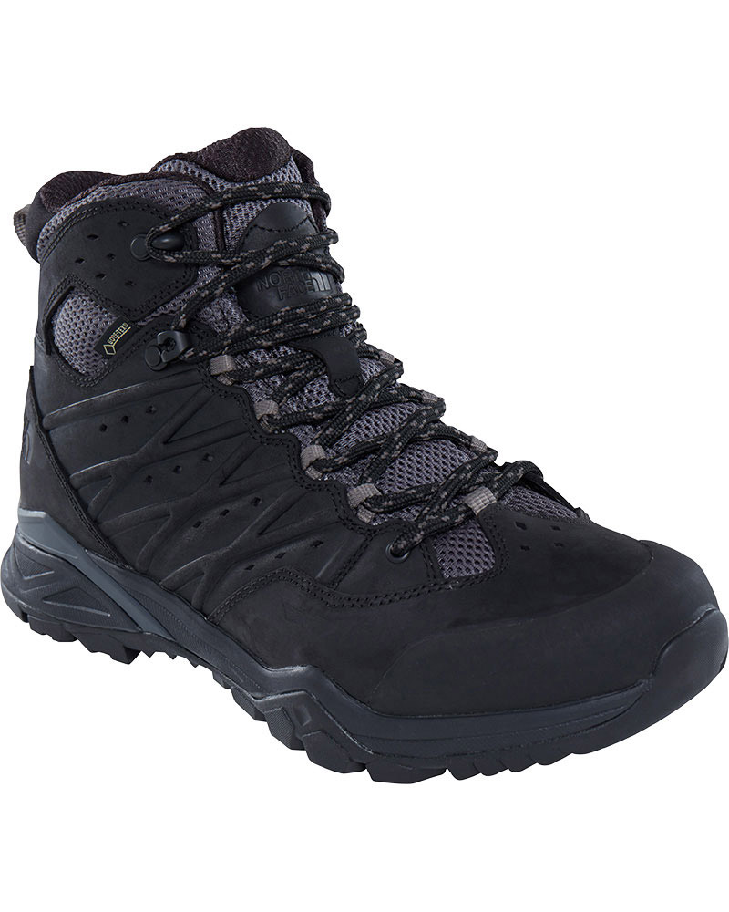 The North Face Men's Hedgehog Hike II Mid GORE-TEX Walking Boots TNF Black/Graphite Grey 0