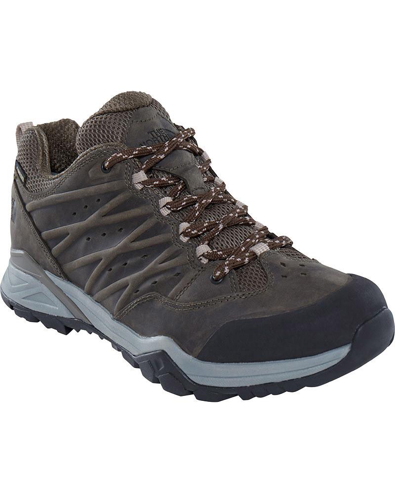The North Face Men's Hedgehog Hike II GORE-TEX Walking Shoes Tarmac Green/Burnt Olive Green 0