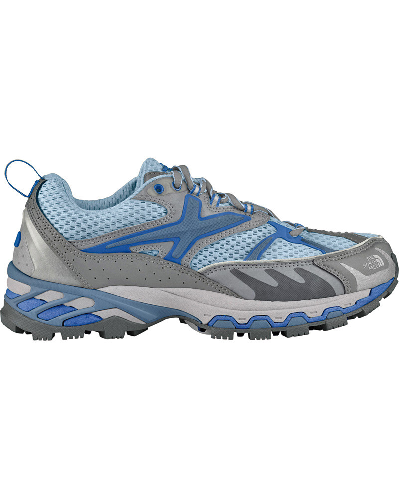 The North Face Women's Rucky Chucky Trail Running Shoes Serene Blue/Alloy Grey 0