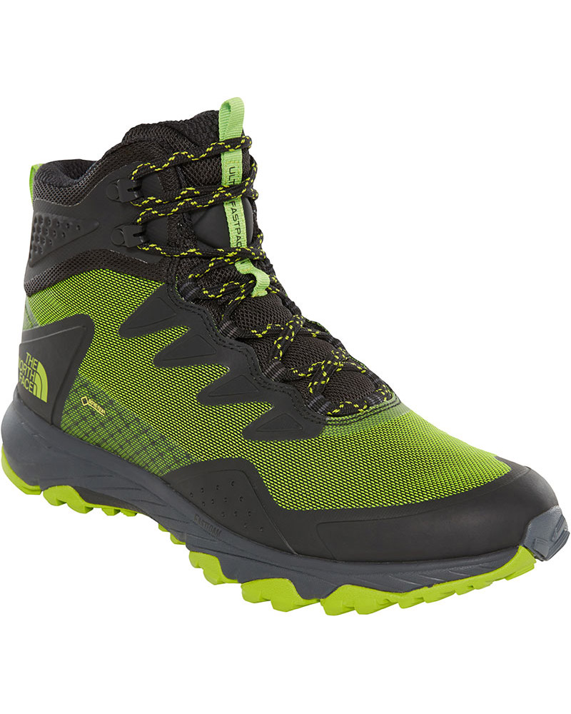 The North Face Men's Ultra Fastpack III Mid GORE-TEX Walking Boots TNF Black/Tender Green 0
