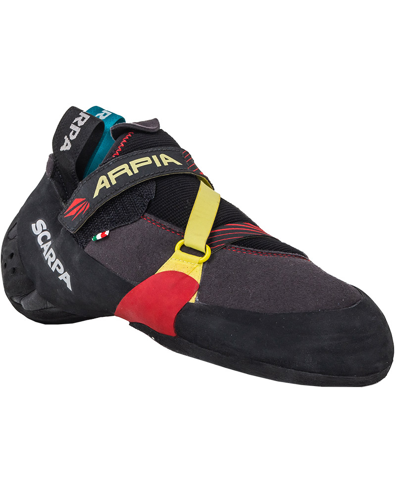Scarpa Men's Arpia Climbing Shoes Black/Red 0