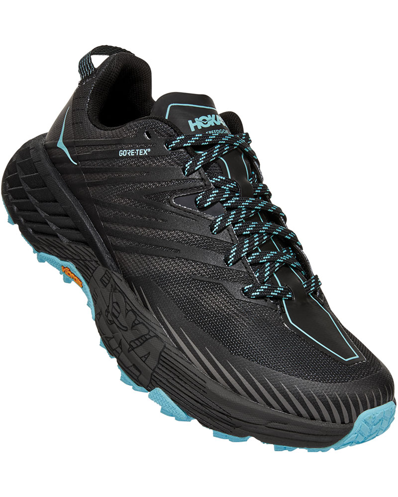 Hoka One One Women's Speedgoat 4 GORE-TEX Trail Running Shoes 0