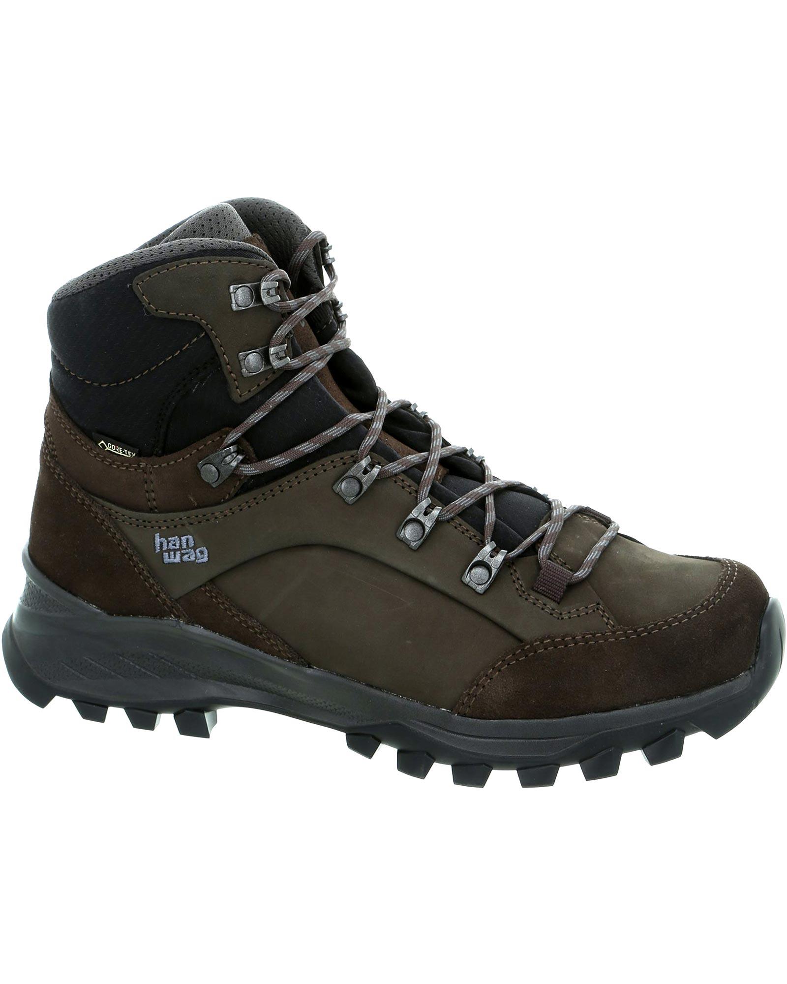 Hanwag Men's Banks GORE-TEX Walking Boots Mocca/Asphalt 0