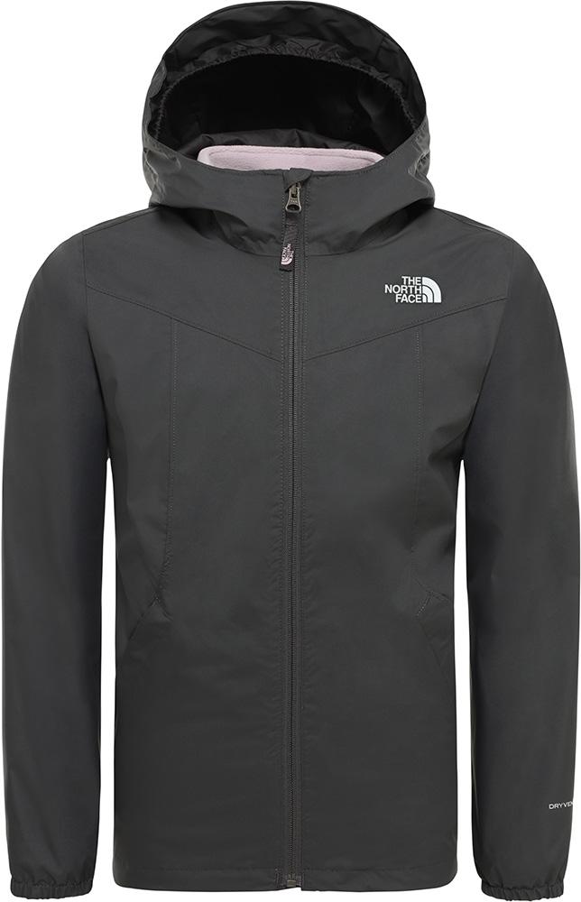 The North Face Girls' Eliana DryVent Rain Triclimate 3 in 1 Jacket Asphalt Grey 0