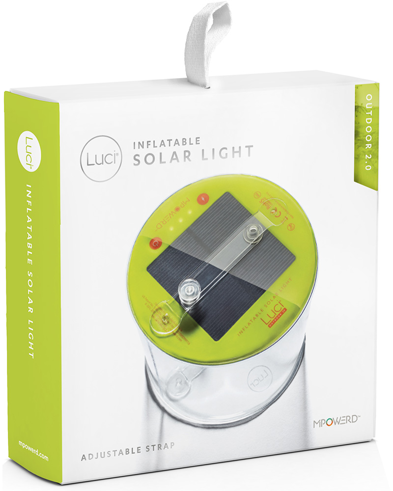 MPOWERD Luci Outdoor 2.0 Inflatable Solar Light 0