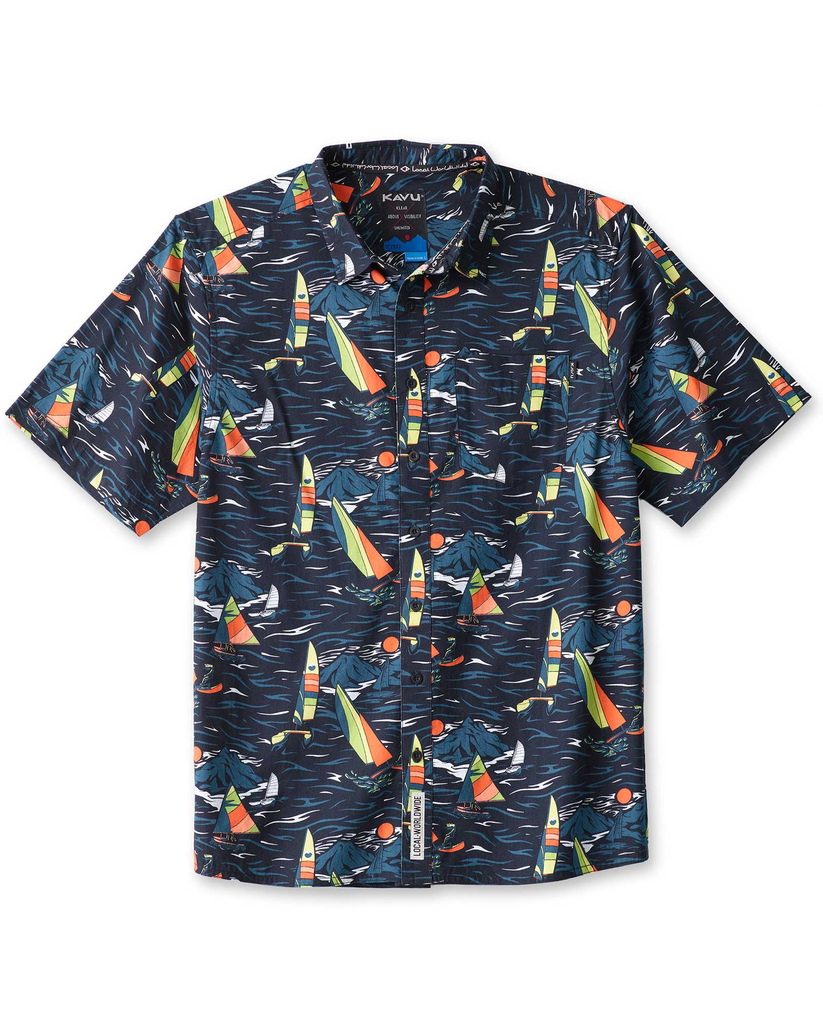 KAVU Men's Festaruski Shirt 0