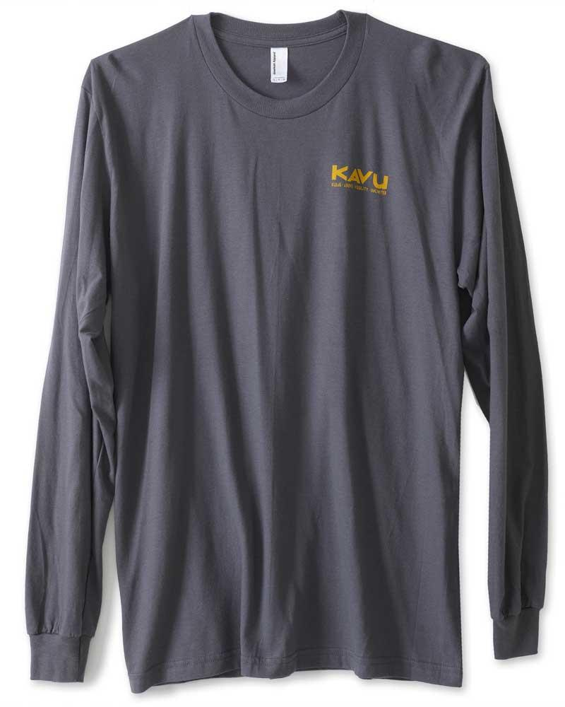 KAVU Men's LS Etch Art T-Shirt 0