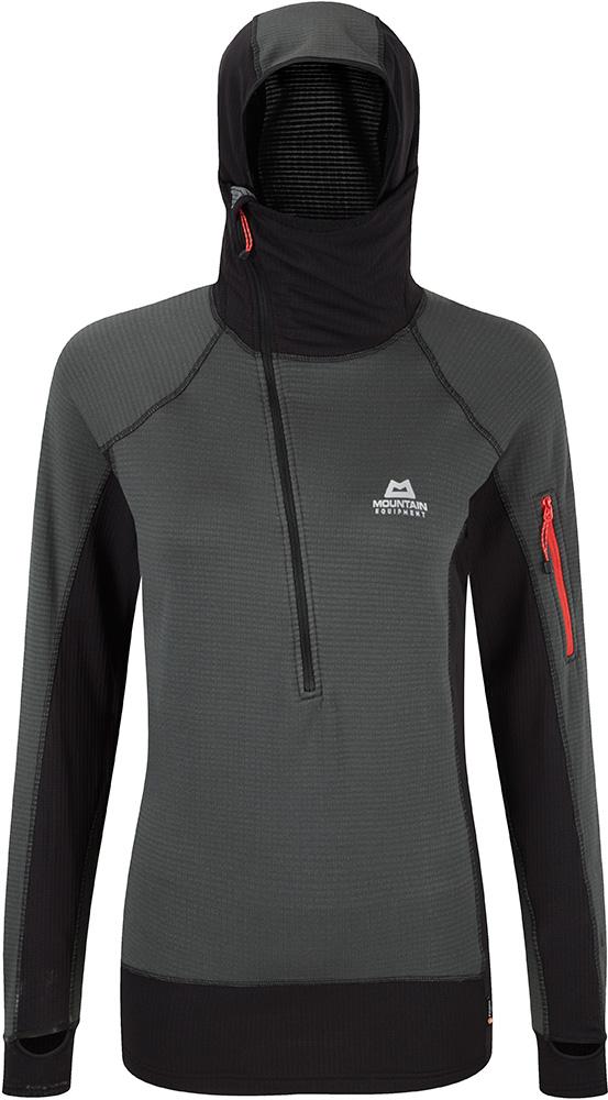 Mountain Equipment Women's Hooded Eclipse Zip T-Shirt 0