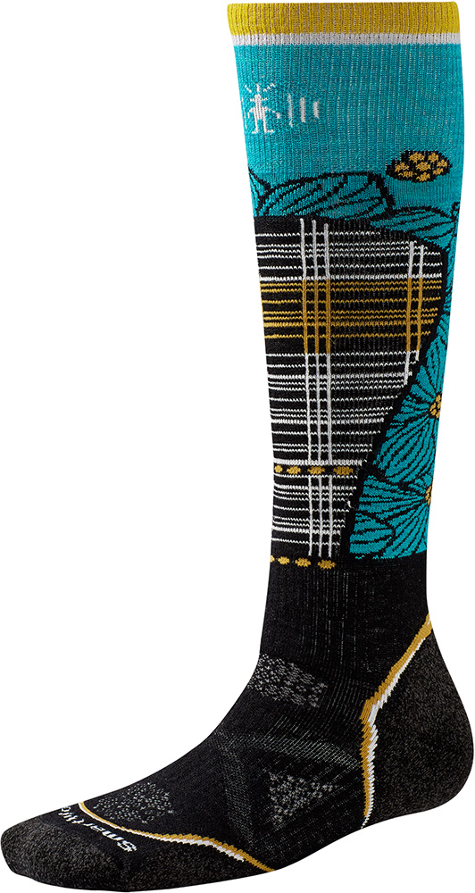 Smartwool Women's Merino PhD Ski Medium Socks 0