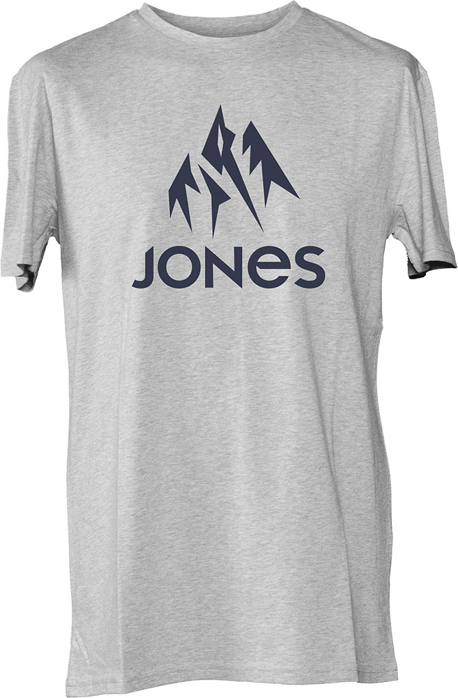 Jones Men's Truckee T-Shirt Grey Heather 0