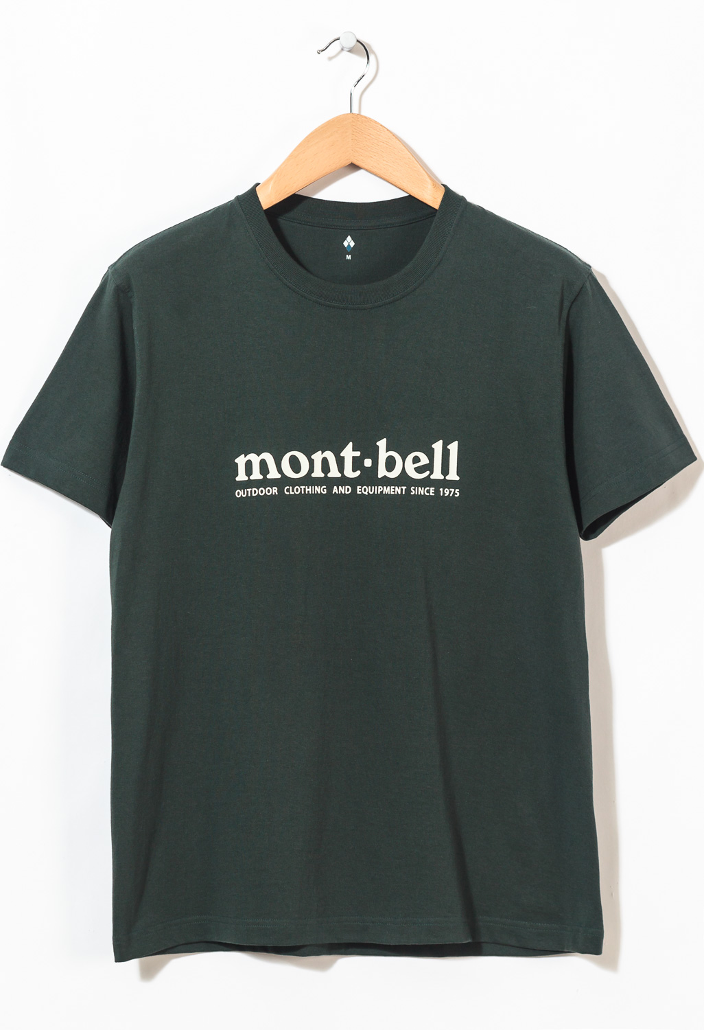 Montbell Pear Skin Cotton Logo T-Shirt 0