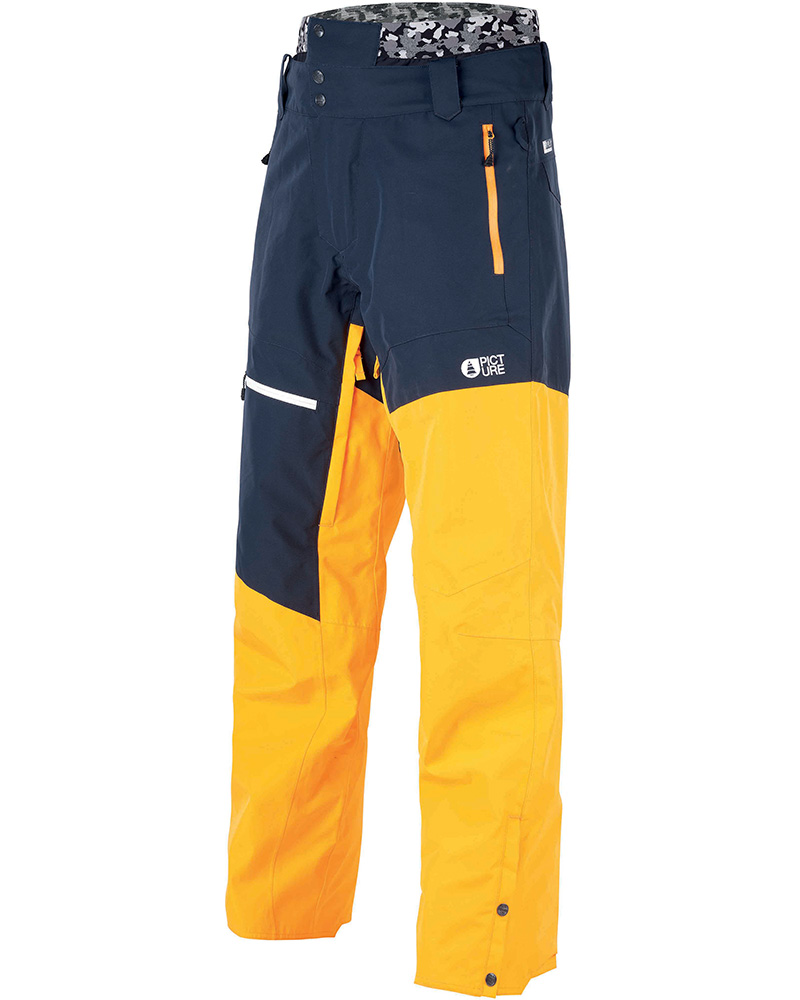 Picture Men's Alpin Ski Pants Dark Blue/Yellow 0