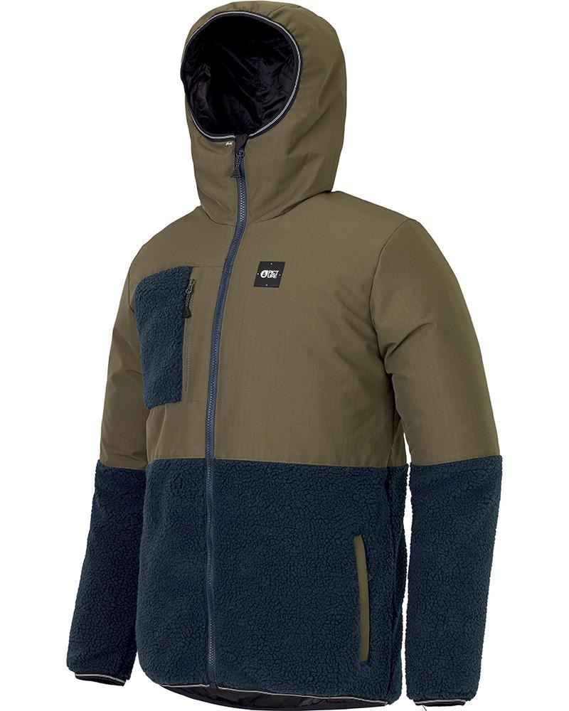 Picture Men's Simon Ski Jacket Dark Army Green 0
