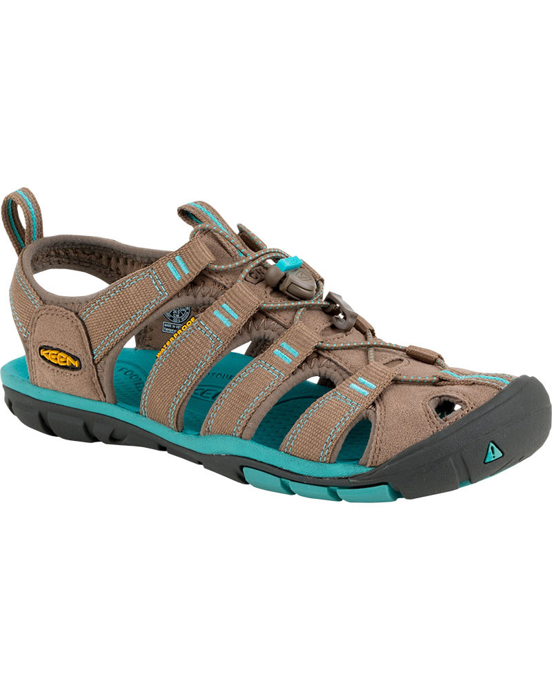 Keen Women's Clearwater CNX Sandals Shitake/Baltic 0