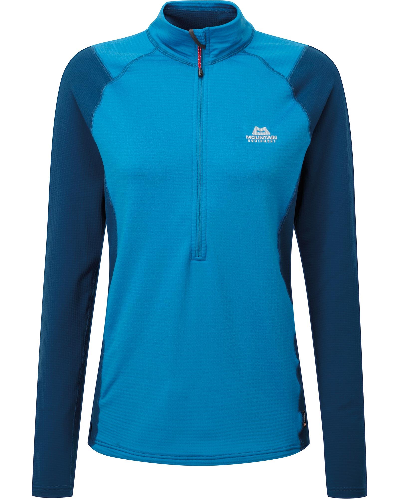 Mountain Equipment Women's Eclipse Zip T-Shirt 0