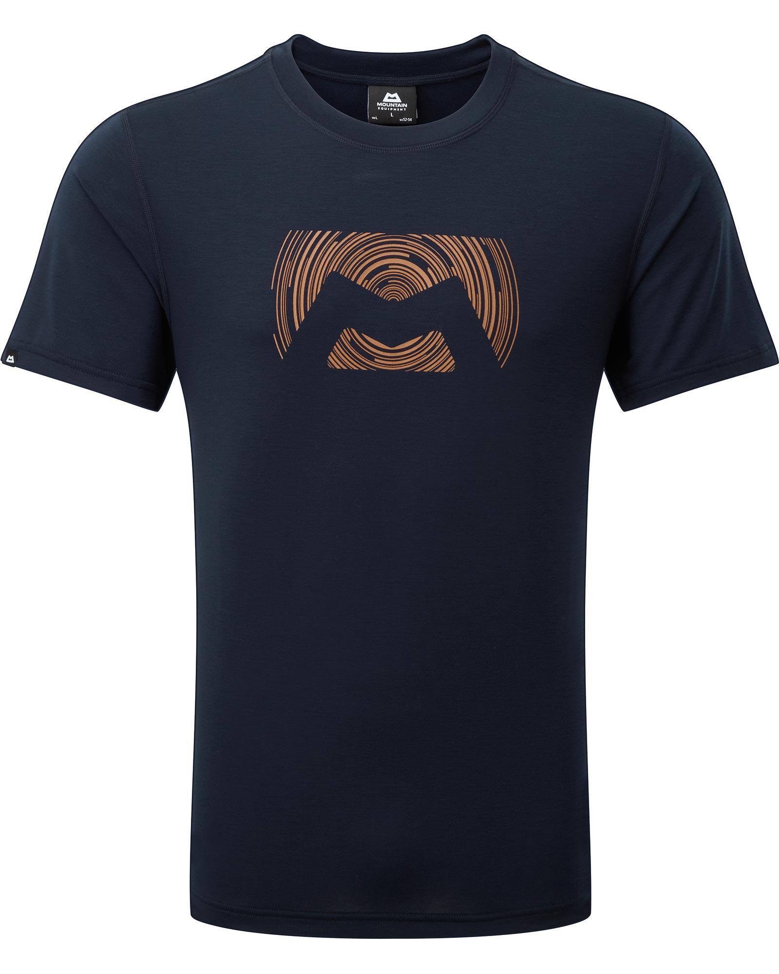 Mountain Equipment Ground Up Logo Men's T-Shirt 0