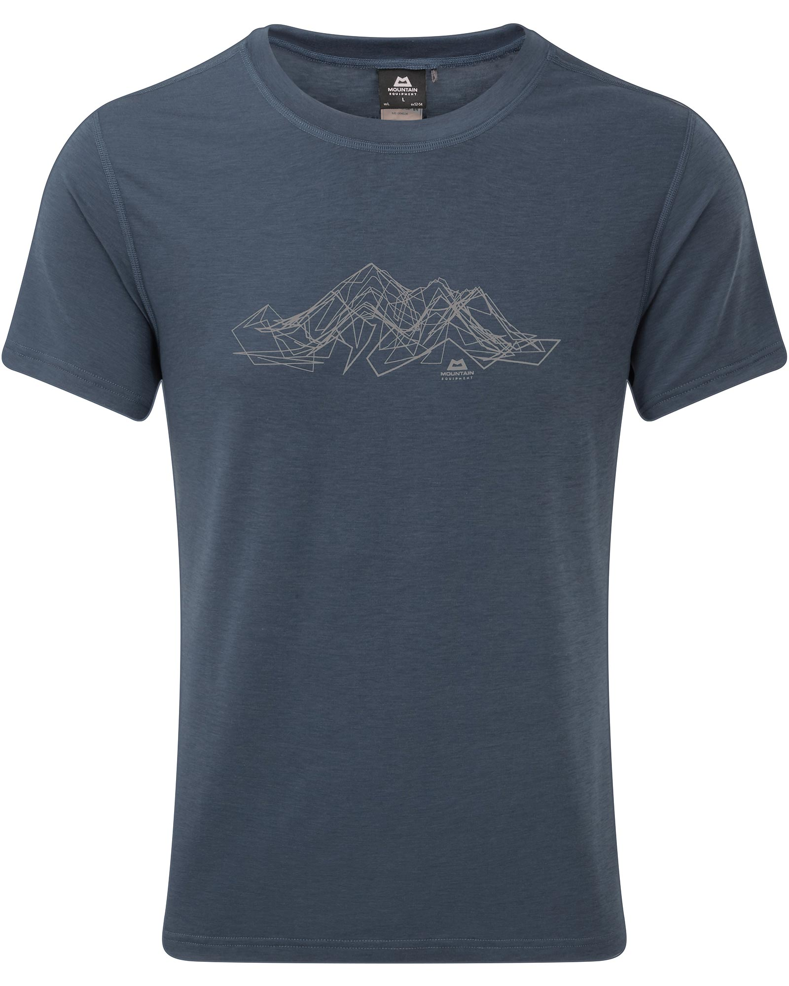 Mountain Equipment Mens S/s Ground Up Mountain T-shirt