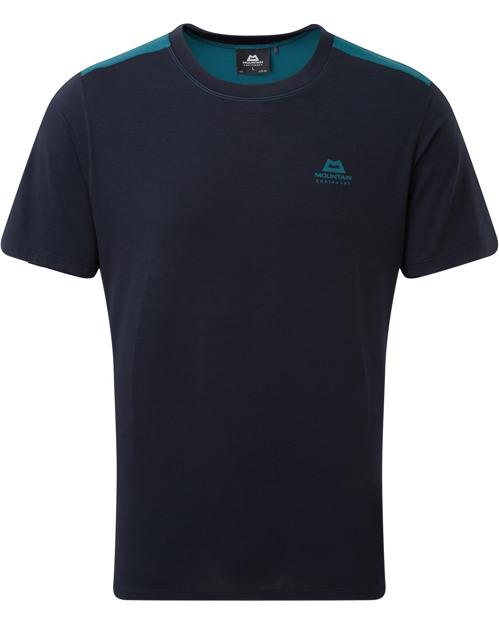 Mountain Equipment Men's Ground Up Colourblock T-Shirt 0
