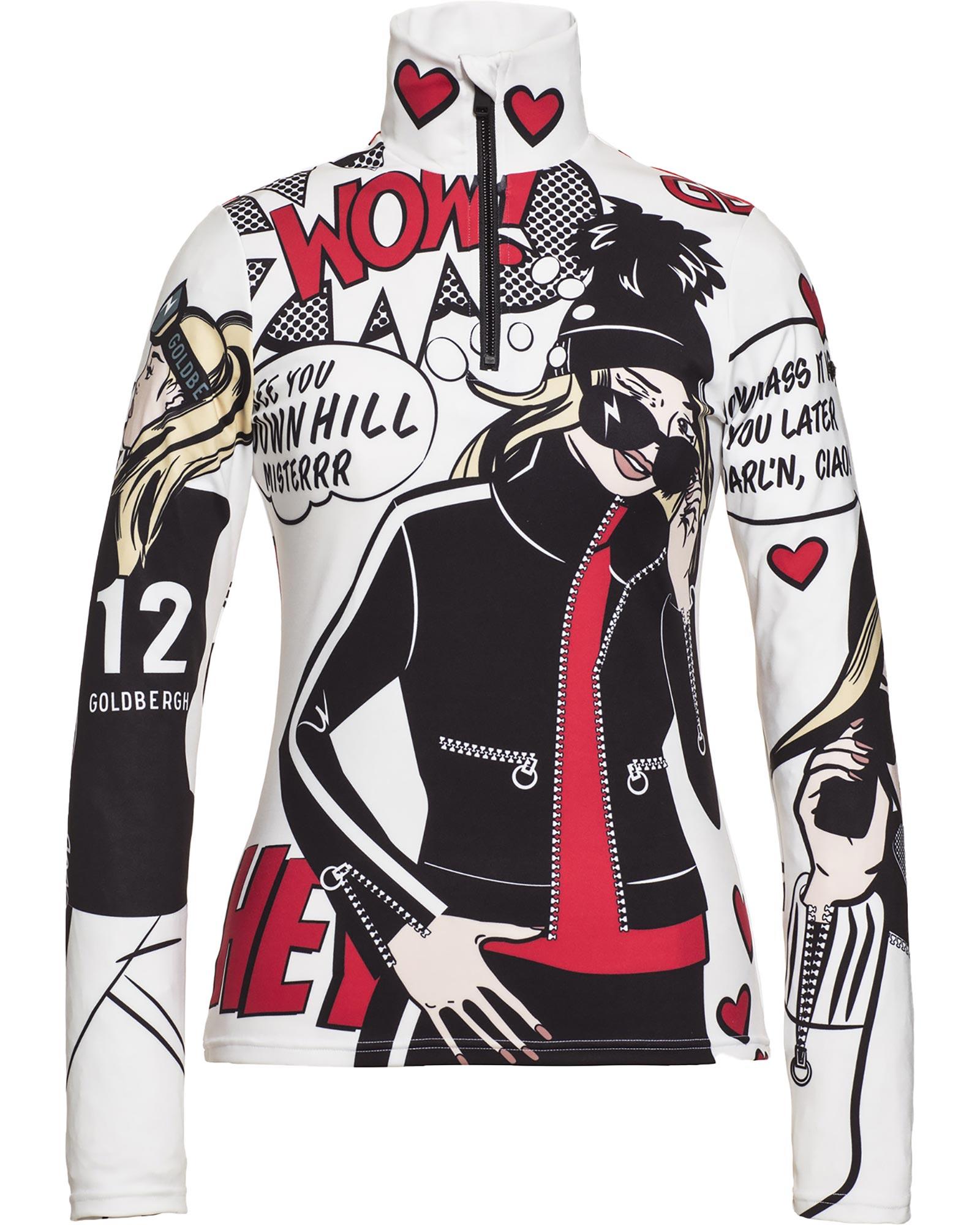 Henri Duvillard Womens Fuji Fake Fur Ski Jacket