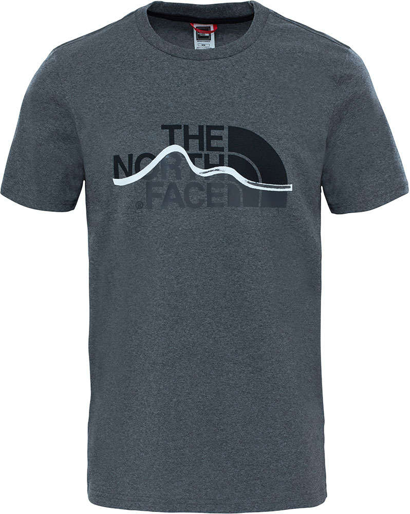 The North Face Men's S/S Mountain Line T-Shirt 0