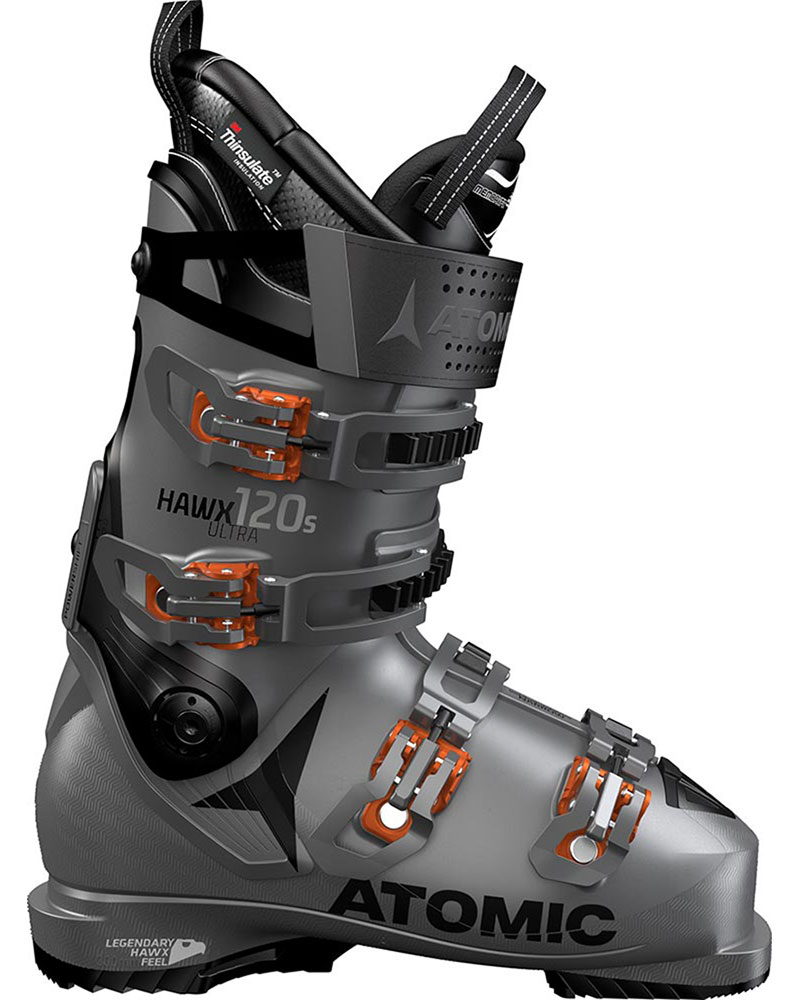 Atomic Men's Hawx Ultra 120 S Ski Boots 2019 / 2020 Anthracite/Black/Orange 0