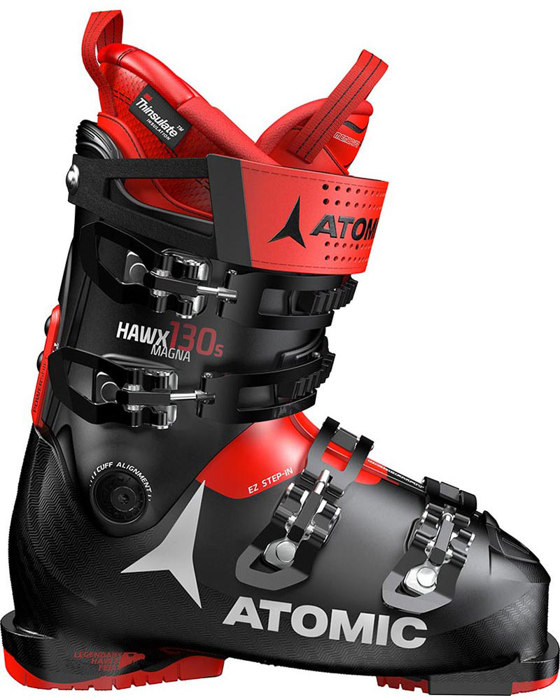 Atomic Men's Hawx Magna 130 S Ski Boots 2019 / 2020 Black/Red 0