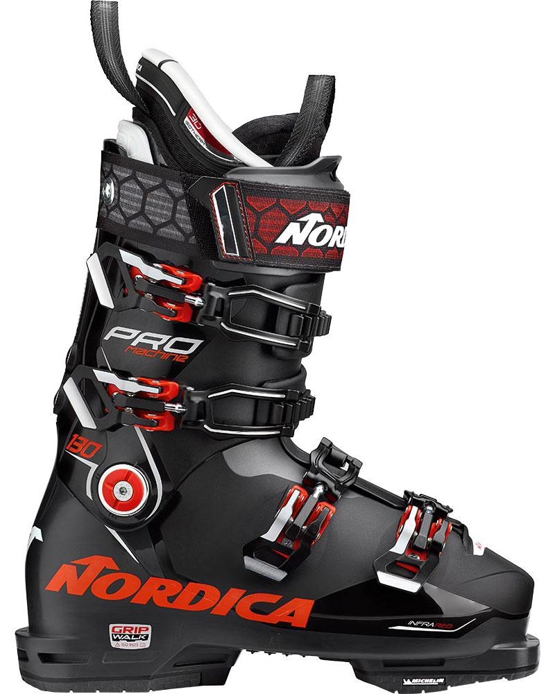 Nordica Men's Promachine 130 GW Ski Boots 2019 / 2020 Black/Red 0