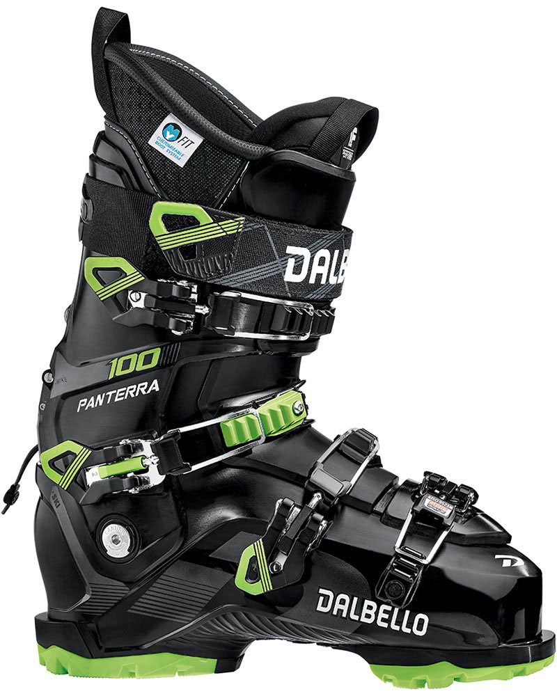 Dalbello Men's Panterra 100 GW Ski Boots 2019 / 2020 Black/Lime 0