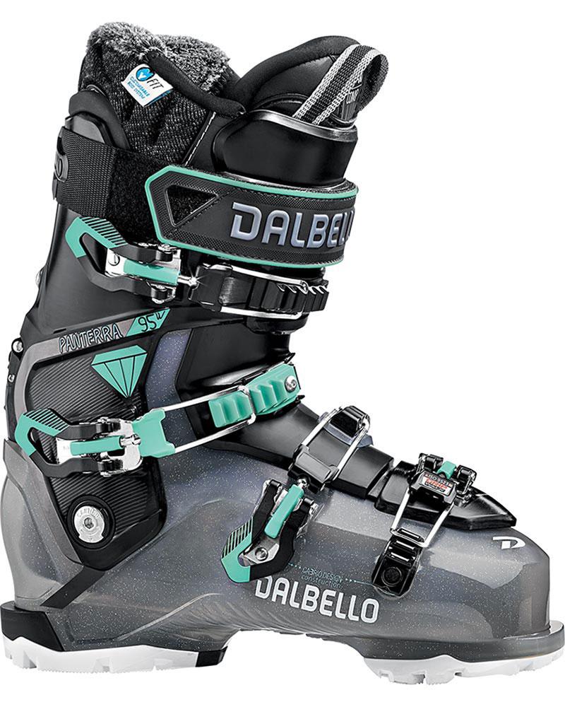 Dalbello Women's Panterra 95 W GW Ski Boots 2019 / 2020 Black Glitter/Black 0