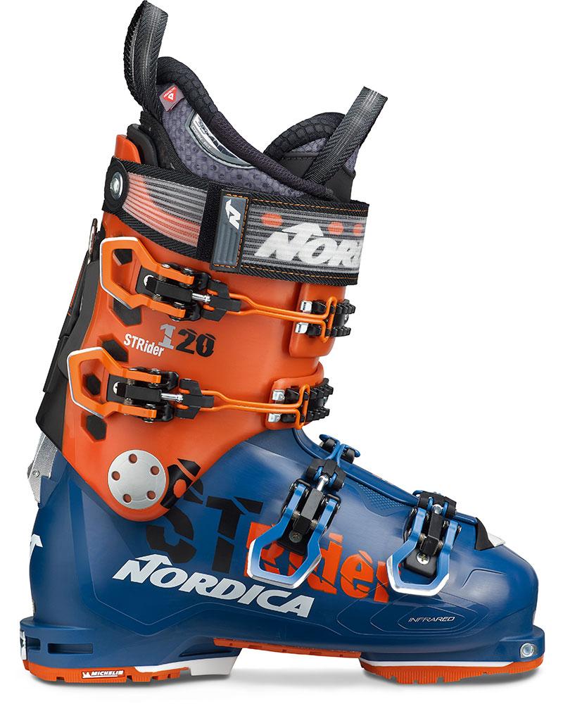 Nordica Strider 120 DYN Backcountry Ski Boots 2019 / 2020 Blue/Orange 0