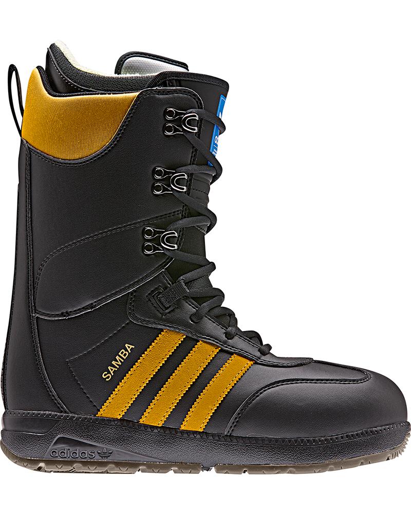 Adidas Men's Samba ADV Snowboard Boots 2019 / 2020 Black/Gold 0