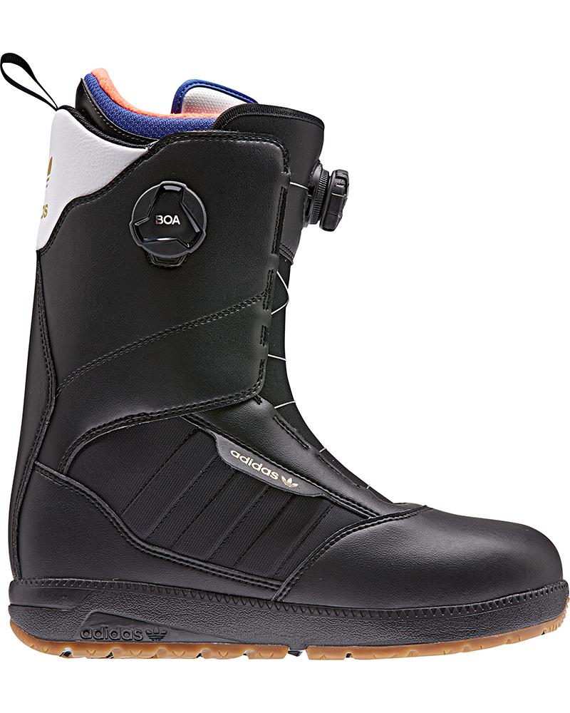 Adidas Men's Response ADV Double Boa Snowboard Boots 2019 / 2020 Black/White/Gold 0