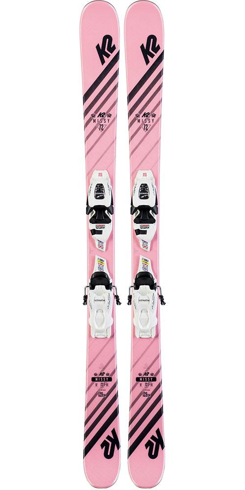 K2 Kids' MISSY 7.0 Skis + FDT JR black SET Bindings 2019 / 2020 0