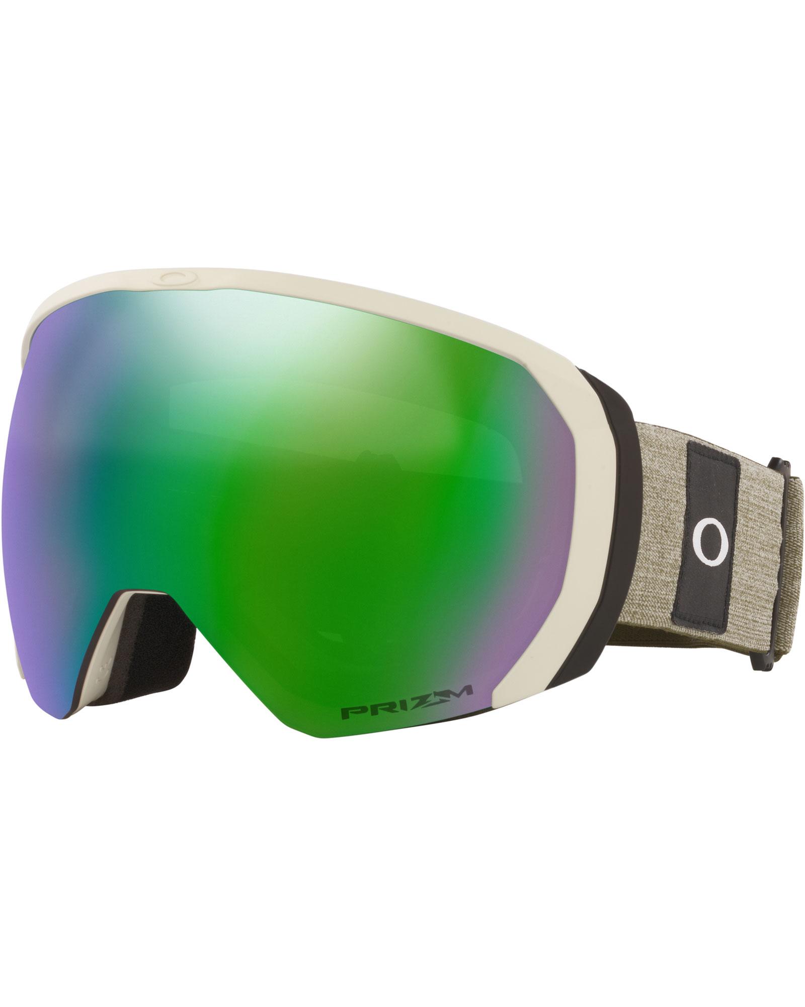 Oakley Flight Path XL Heathered Grey Brush / Prizm Jade Iridium Goggles 2020 / 2021 0