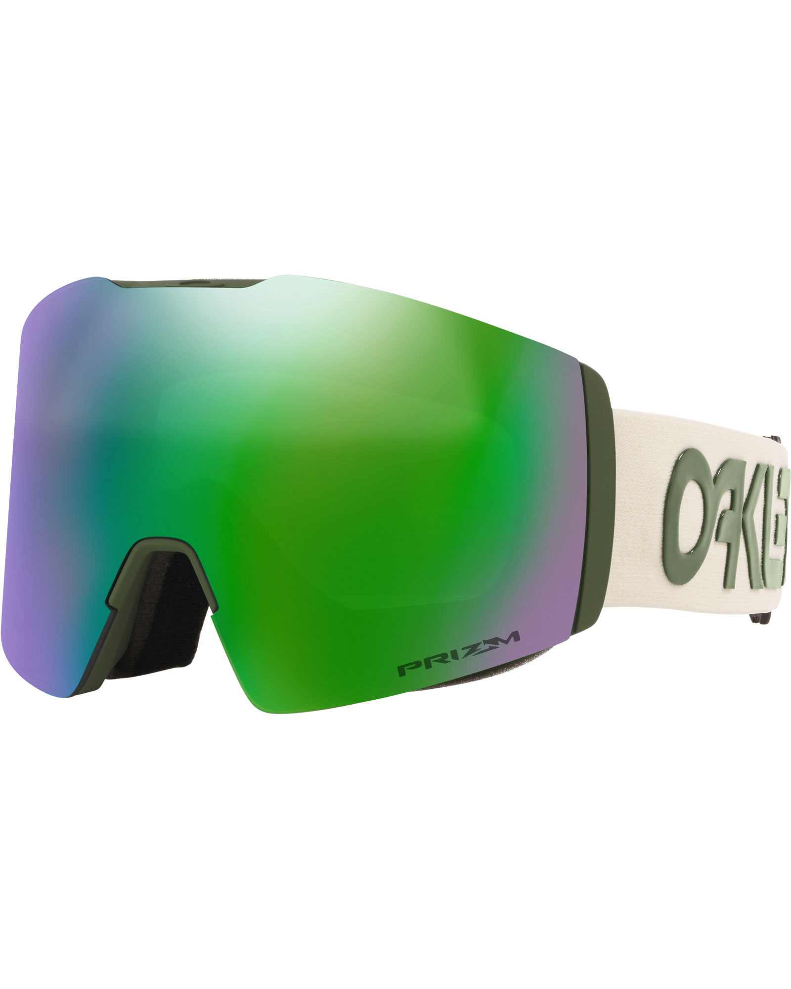 Oakley Fall Line XL Factory Pilot Dark Brush Grey / Prizm Jade Iridium Goggles 2020 / 2021 0