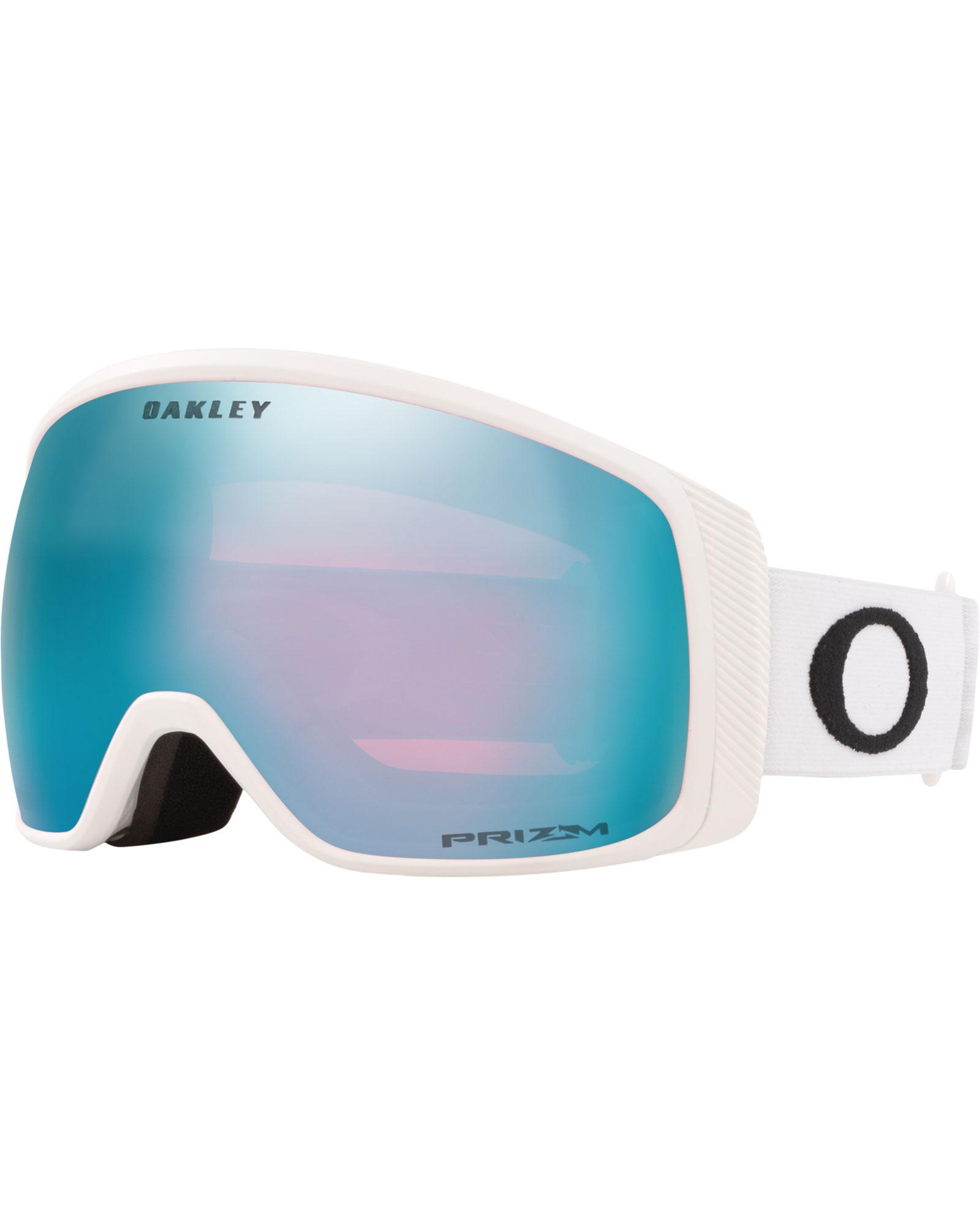 Oakley Flight Tracker XM Matte White / Prizm Sapphire Iridium Goggles 2020 / 2021 0
