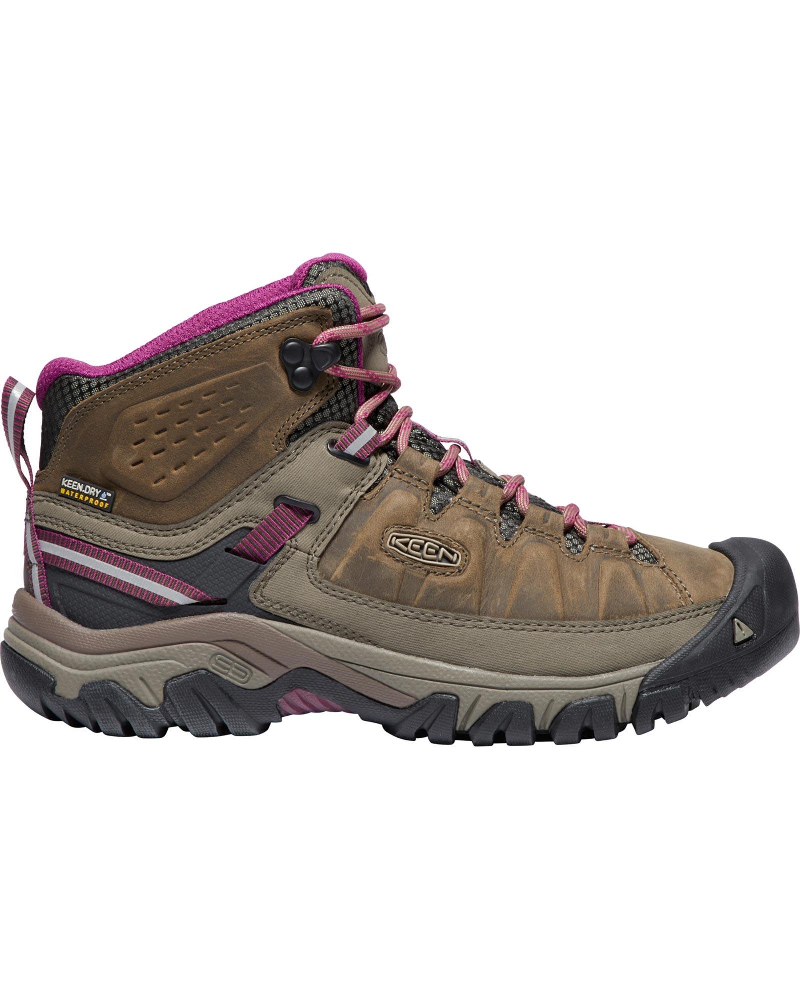 Keen Women's Targhee III Mid Waterproof Walking Boots 0