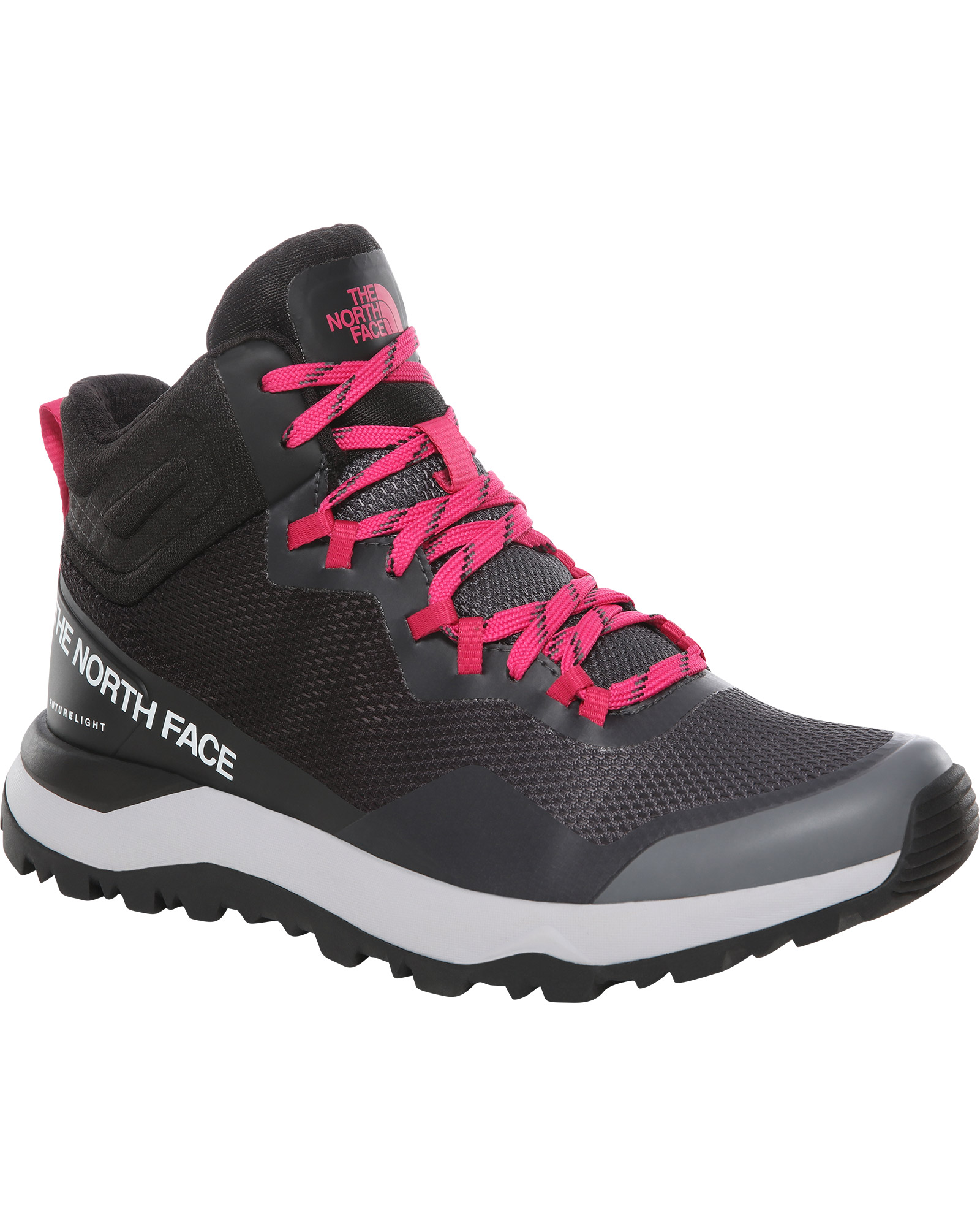The North Face Women's Activist Mid FUTURELIGHT Walking Boots Zinc Grey/TNF Black 0