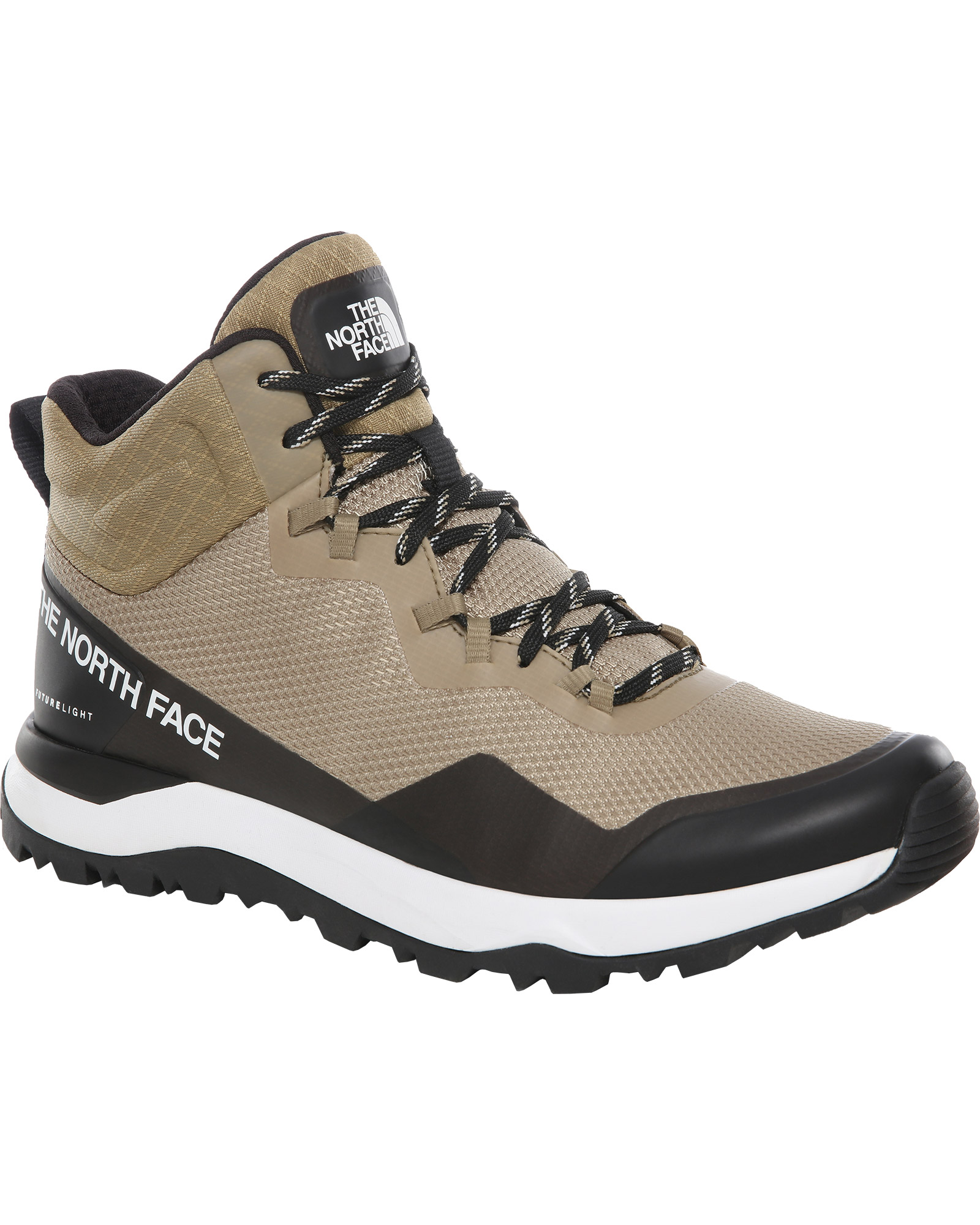 The North Face Men's Activist Mid FUTURELIGHT Walking Boots Kelp Tan/TNF Black 0