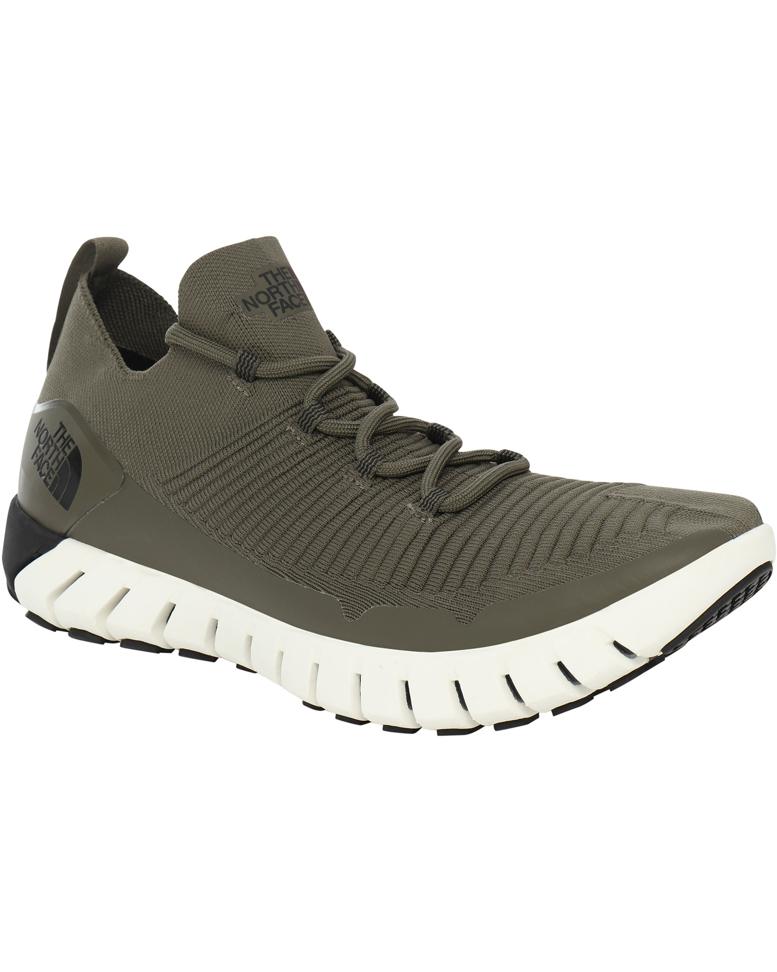 The North Face Men's Oscilate Walking Shoes New Taupe Green/TNF Black 0