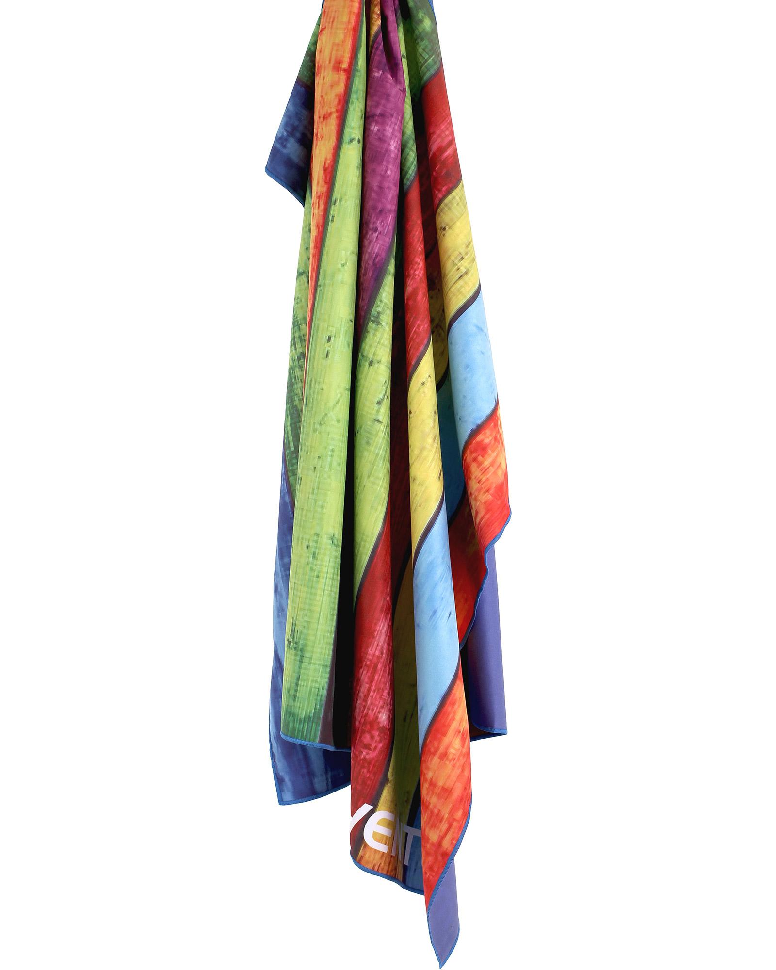 Product image of Lifeventure SoftFibre Trek Towel - Stripped Planks Print