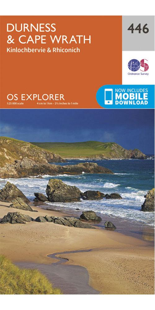 Ordnance Survey Explorer 446: Durness & Cape Wrath  0