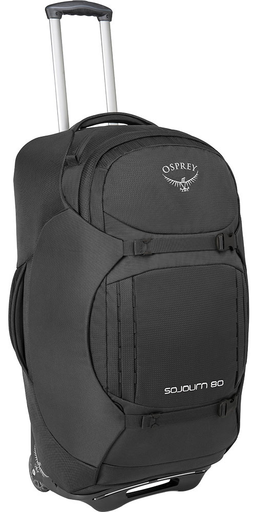 Osprey Sojourn 80 Convertible Backpack Flash Black 0