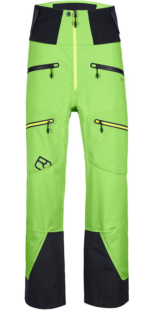 Ortovox Men's Merino Guardian 3L Shell Ski Pants Matcha Green 0