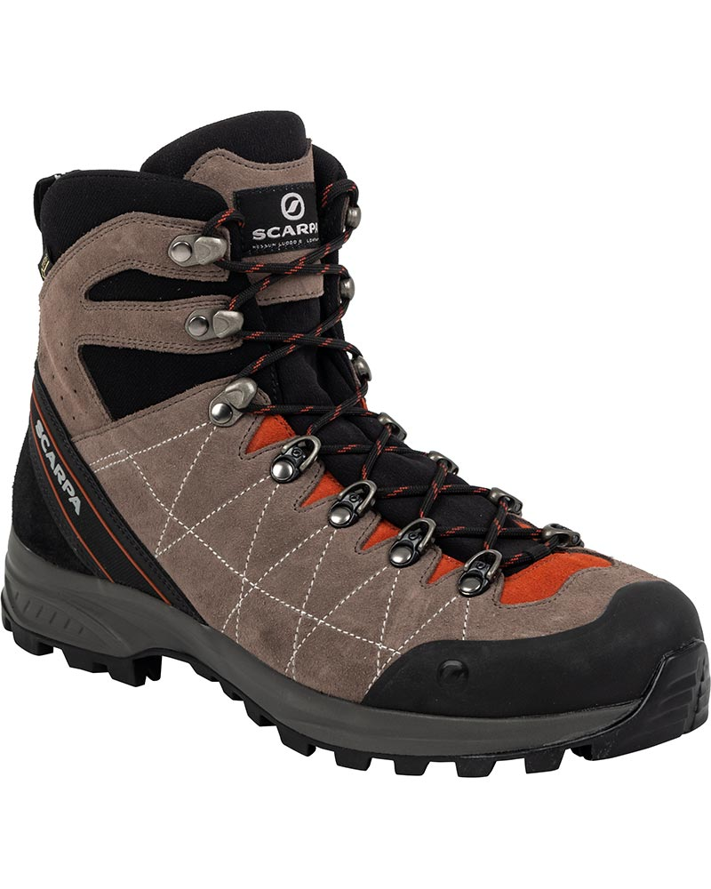 Scarpa Men's R-Evo GORE-TEX Walking Boots Cigar/Rust 0