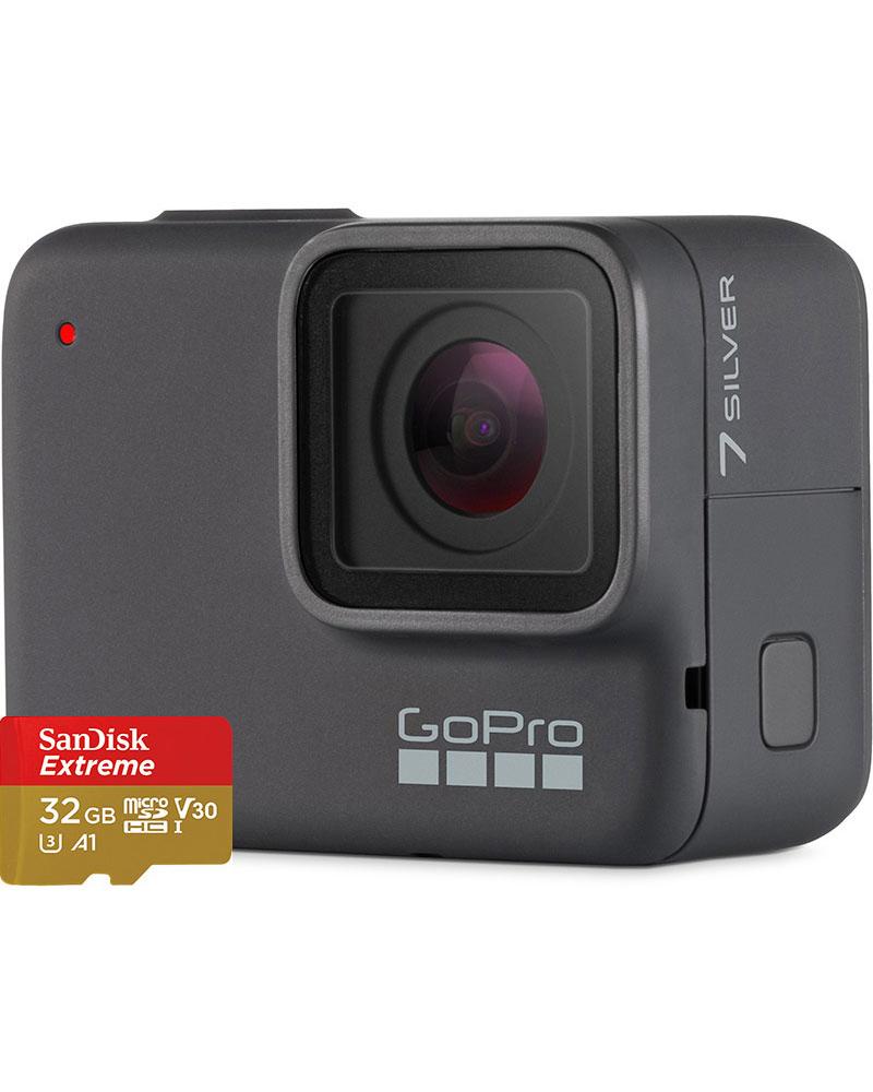 GoPro HERO7 Silver – Bundle Edition 0