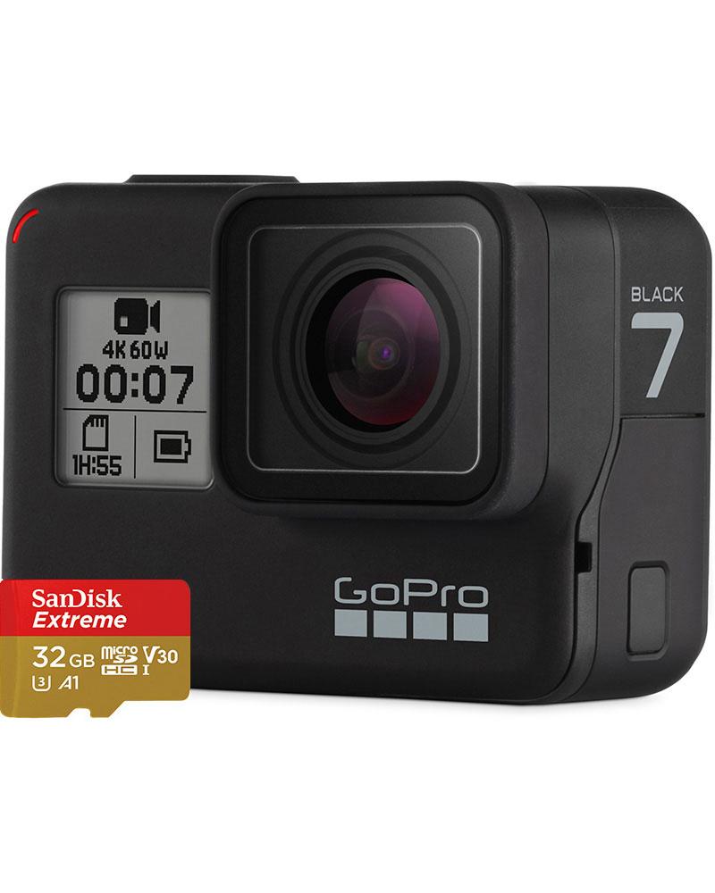 GoPro HERO7 Black – Bundle Edition 0
