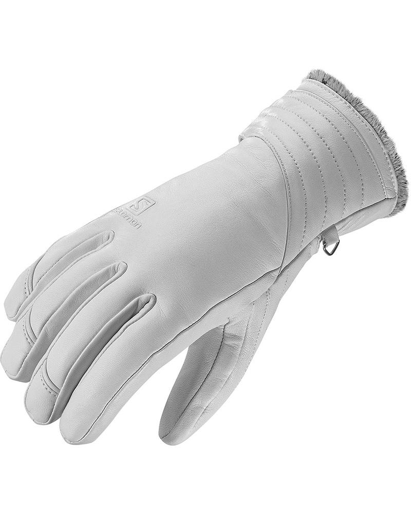 Salomon Women's Native Gloves White 0