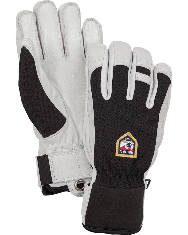 Hestra Men's Army Leather Ski Patrol Gloves Black 0
