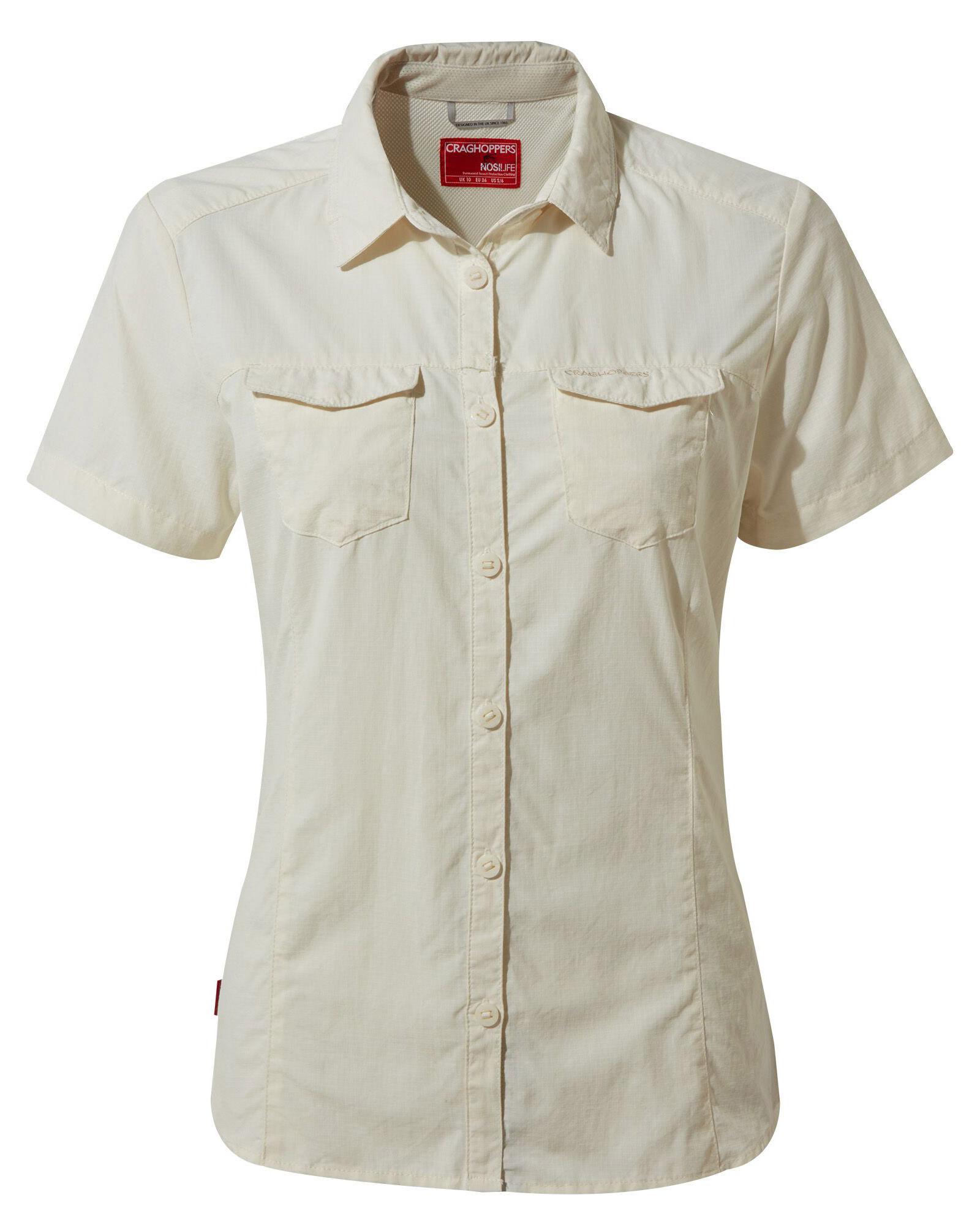 Craghoppers Women's NosiLife Short Sleeve Adventure Shirt 0